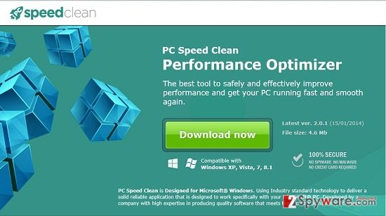 PC Speed Clean snapshot