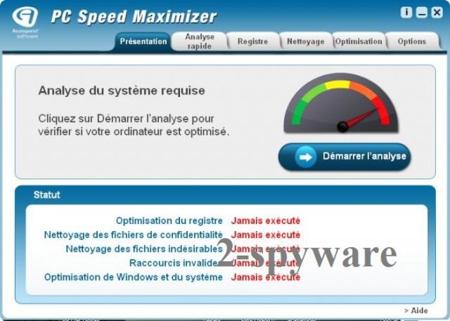 PC Speed Maximizer snapshot