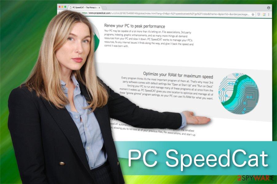 PC SpeedCat illustration
