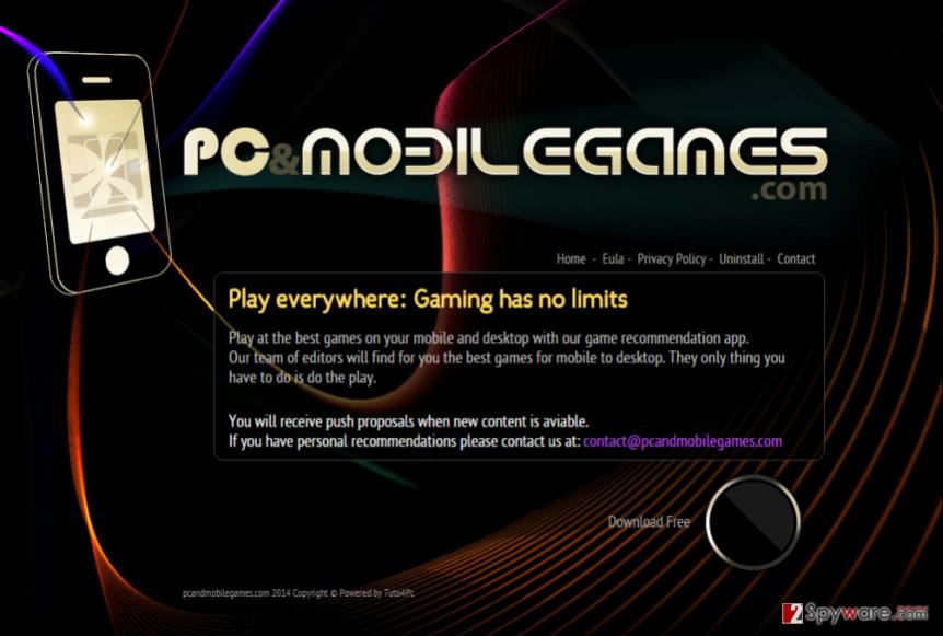 PCandMobileGames ads