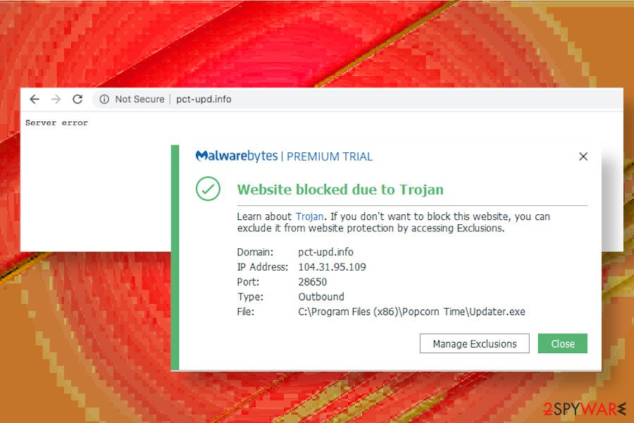 Pctupd.info malware