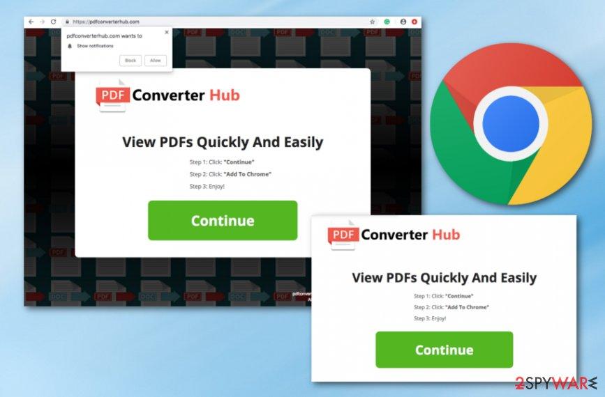 PDF Converter Hub virus