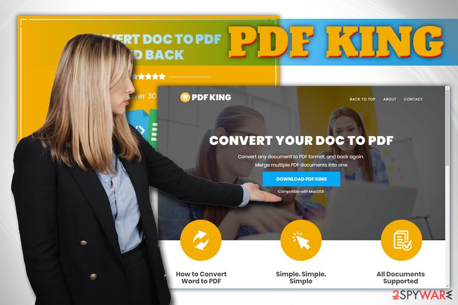 PDF King browser hijacker