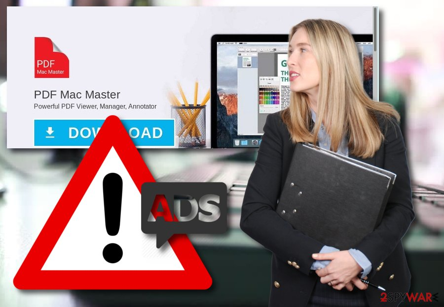 PDF Mac Master adware