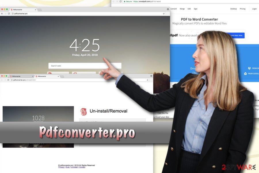 Pdfconverter.pro browser hijacker
