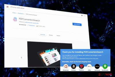 PDFConvertersSearch extension