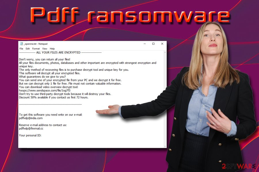 Pdff ransomware virus
