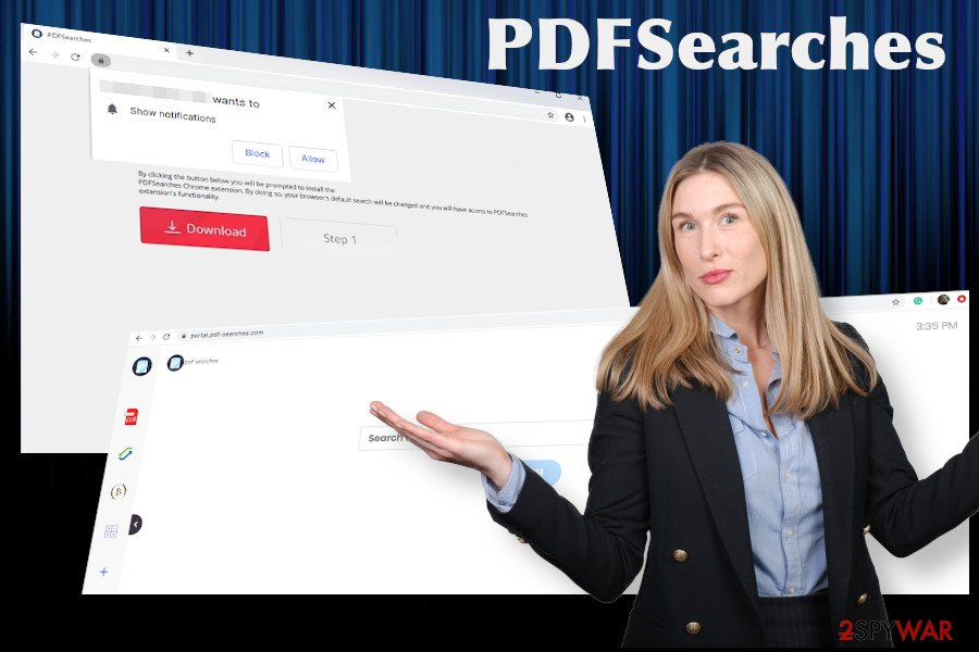 PDFSearches browser hijacker