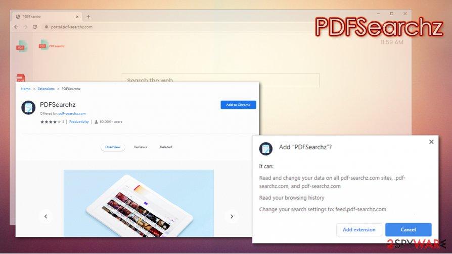 PDFSearchz distribution