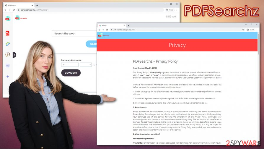 PDFSearchz hijack