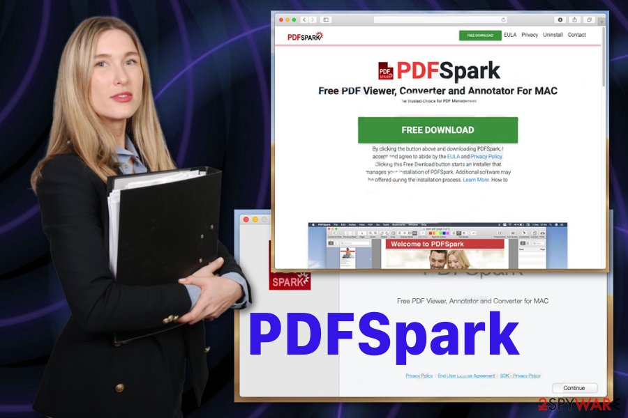 PDFSpark application