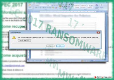 The image illustrating PEC 2017 malware