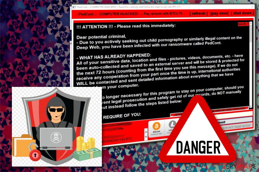 PedCont ransomware