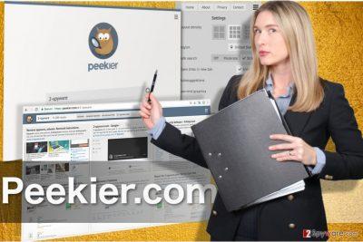 Image of the Peekier.com virus