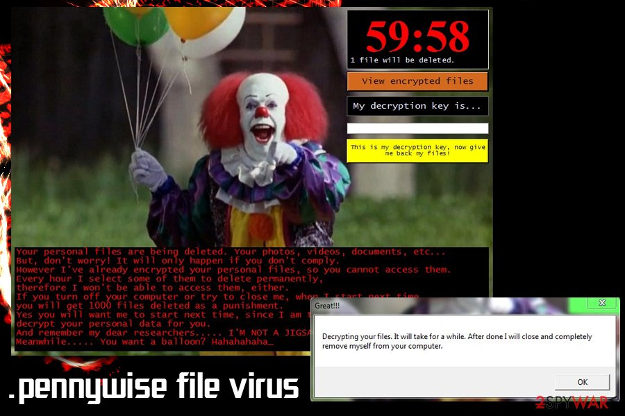 Pennywise file virus