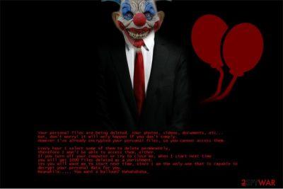 Pennywise virus image