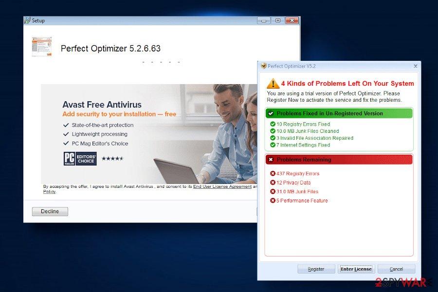 Perfect Optimizer virus