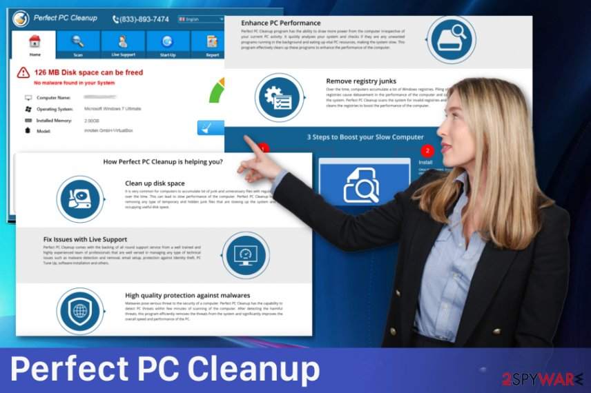 Perfect PC Cleanup adware