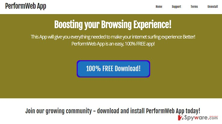 PerformApp ads