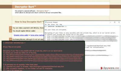 Screenshot of Perl virus