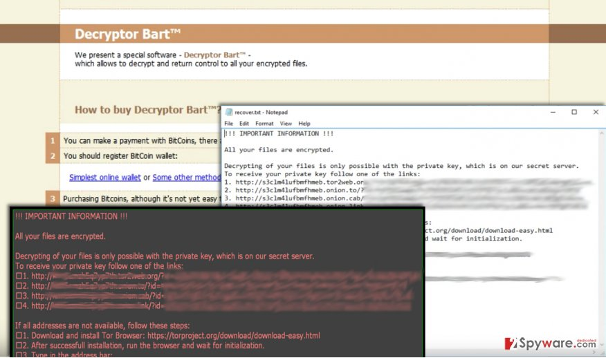 Screenshot of Perl virus