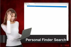 Personal Finder Search virus