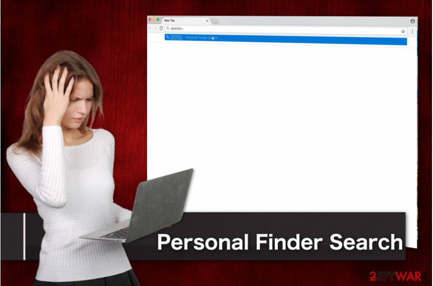 Personal Finder Search browser hijack