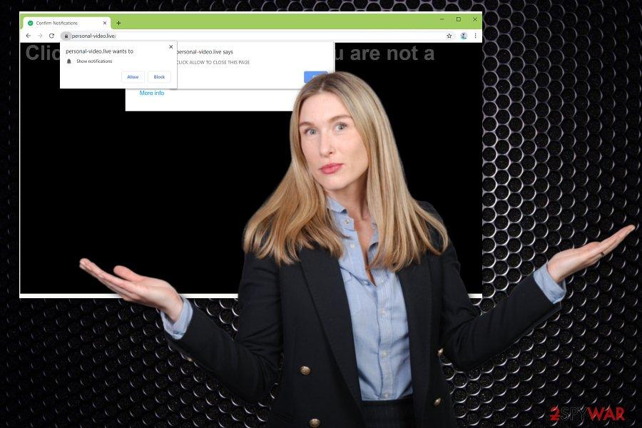 Personal-video.live virus