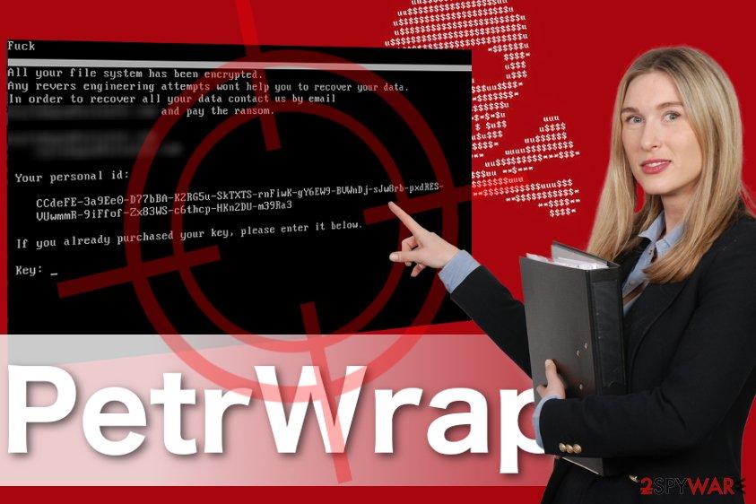 PetrWrap ransomware image