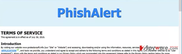 Ads by PhishAlert
