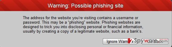 Phishing Protector ads snapshot