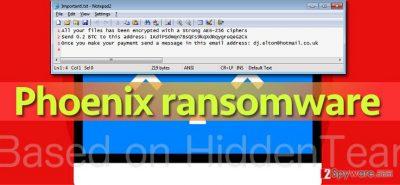 Phoenix ransomware wants 0.2 Bitcoin