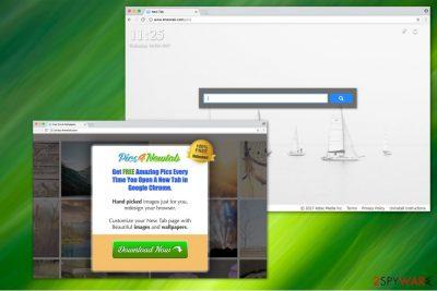 Pics4NewTab stealthily hijacks your Chrome browser