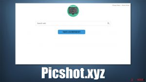 Picshot.xyz browser hijacker