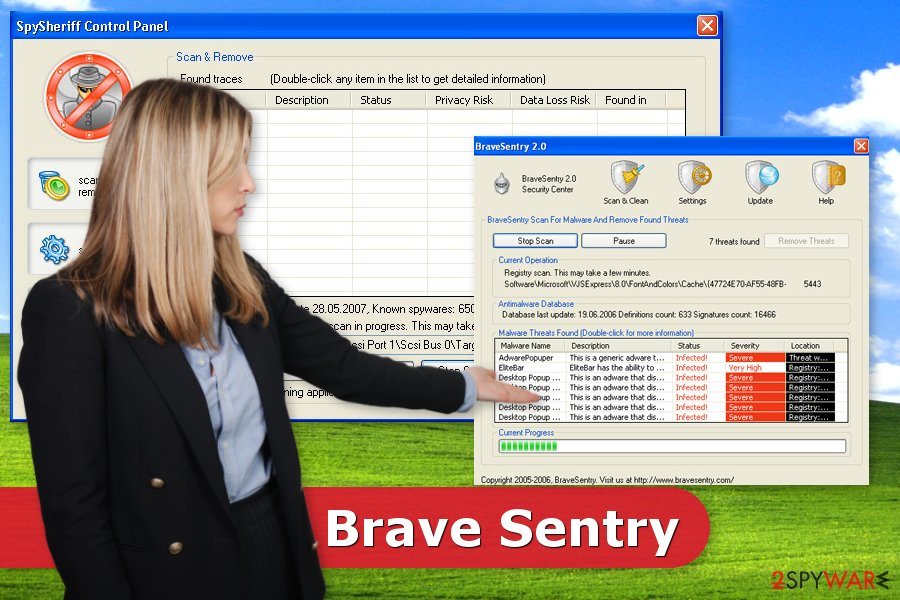 The image of Brave Sentry