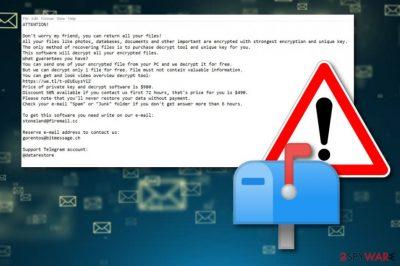 Pidon ransomware