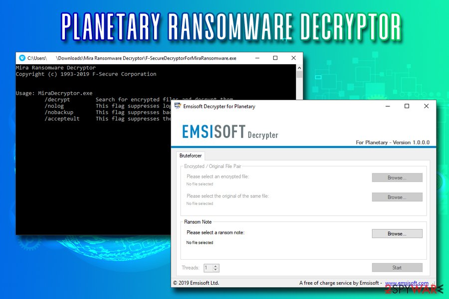 Remove PLANETARY ransomware (Virus Removal Guide) - Apr 2019
