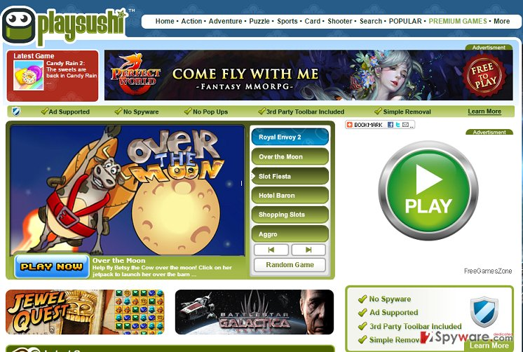 PlaySushi ads