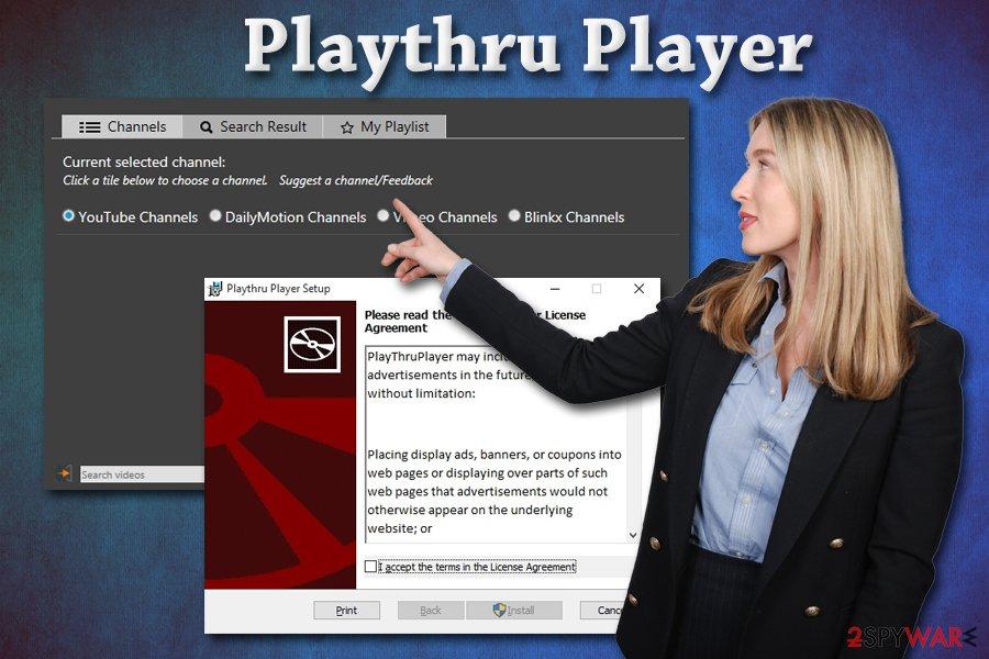 Playthru Player pup