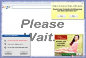 """Please Wait…"" ads"