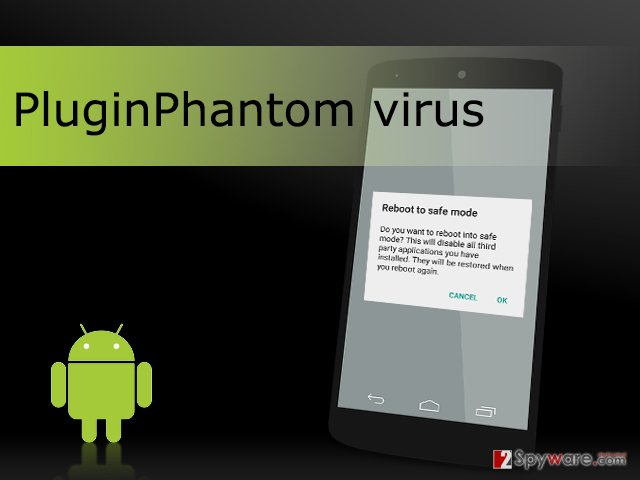 The picture of PluginPhantom virus