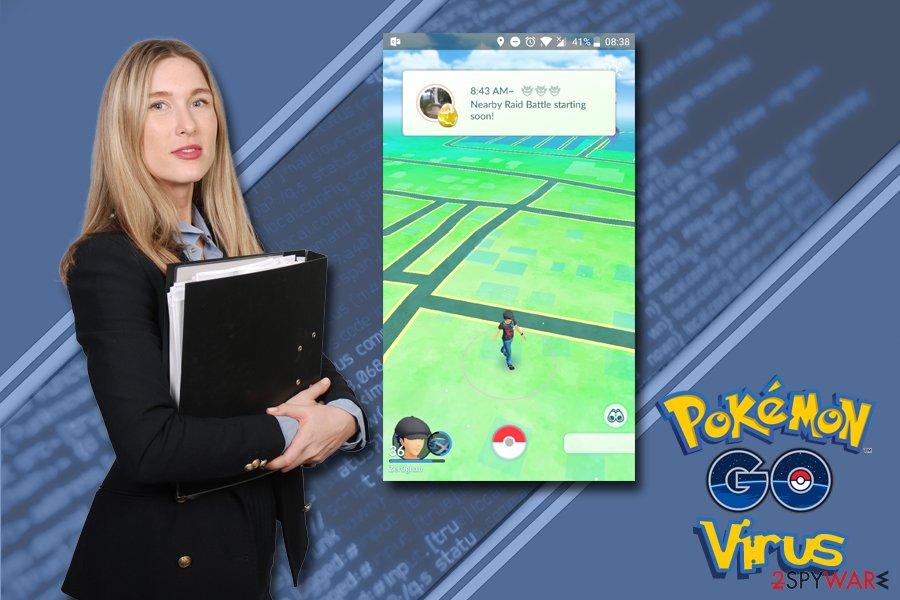 Pokemon Go virus removal instructions