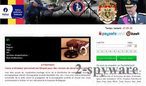 Police Judiciaire Fédérale virus snapshot