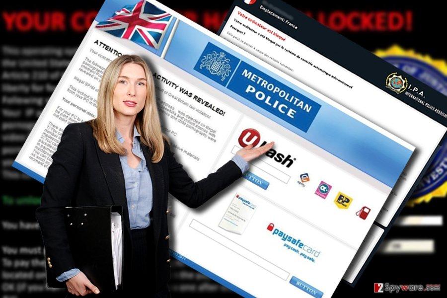 The screenshot of IPA virus