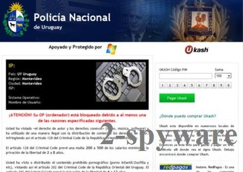 Policia Nacional De Uruguay virus snapshot