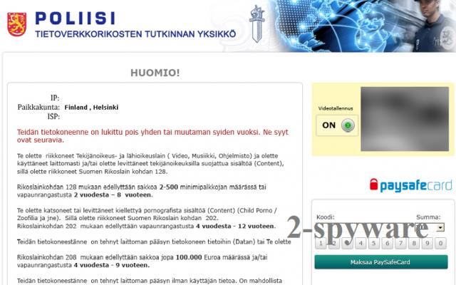 POLIISI Tietoverkkorikos Tutkinnan Yksikkö snapshot
