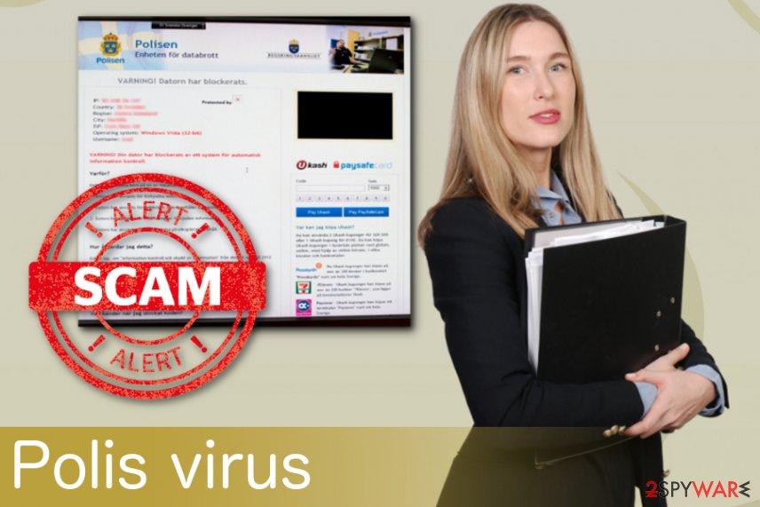 Polis virus ransomware