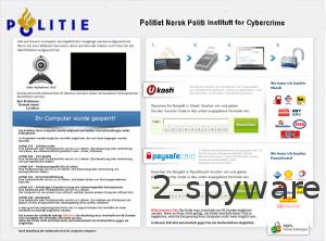 Politie Eenheid Voor De Bestruding Cybercrime Ukash virus