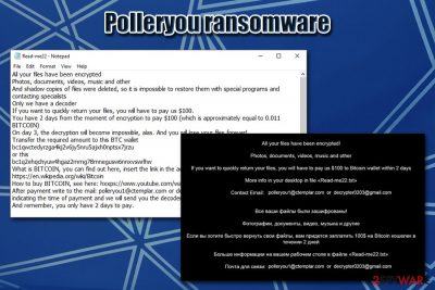Polleryou ransomware