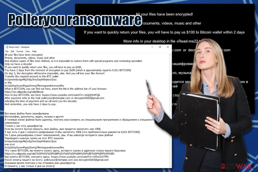 Polleryou ransomware virus